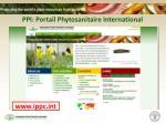 ppi portail phytosanitaire international