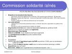 commission solidarit a n s