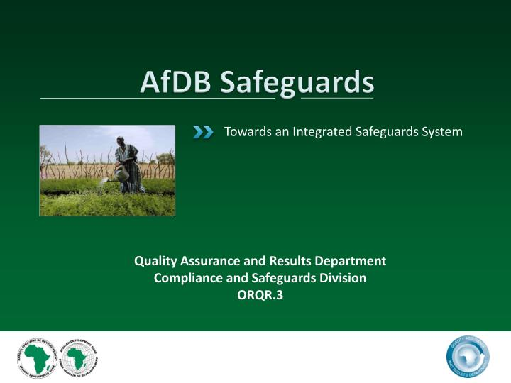 afdb safeguards n.