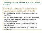 cie 6 bojova proti hiv aids mal rii a al m chorob m1