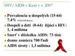 hiv aids v keni v r 2007
