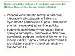 krajiny z padn ho balk nu a v chodn ho partnerstva e bosna a hercegovina ierna hora moldavsko