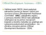 official development assistance oda