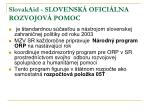 slovakaid slovensk ofici lna rozvojov pomoc