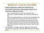muscle a tool for fast msa
