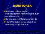 monitorea