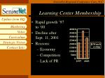 learning center membership