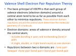 valence shell electron pair repulsion theroy
