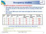 occupancy studies