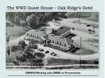 the wwii guest house oak ridge s hotel