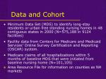 data and cohort