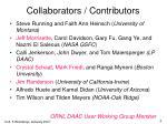 collaborators contributors