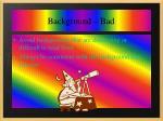 background bad