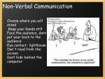 non verbal communication1