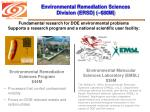 environmental remediation sciences division ersd 80m