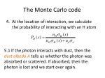 the monte carlo code2
