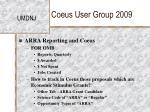 coeus user group 200916