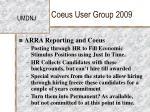 coeus user group 200918
