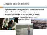 degradacja chemiczna