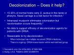 decolonization does it help