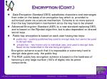 encryption cont