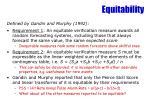 equitability