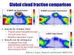 global cloud fraction comparison