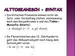 alttoskanisch syntax1