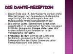 die dante rezeption3