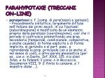 parahypotaxe treccani on line