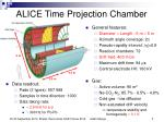 alice time projection chamber