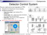 detector control system