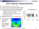 drift velocity measurements1