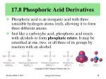 17 8 phosphoric acid derivatives