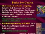 books for course
