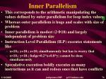 inner parallelism
