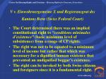 v v einwohrnergemeine x und regierunsgrat des kantons bern swiss federal court