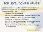 top level domain names1