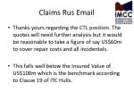 claims rus email