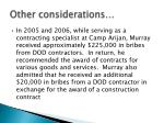 other considerations6