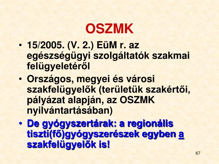 OSZMK