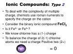 ionic compounds type 21