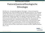 milieusensible pastoral pastoraltheologische ethnologie2