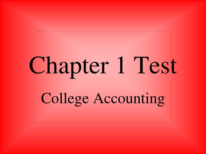 chapter 1 test n.