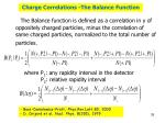 charge correlations the balance function1