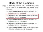 radii of the elements4