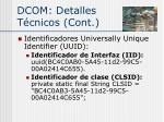 dcom detalles t cnicos cont1