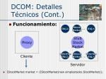 dcom detalles t cnicos cont3