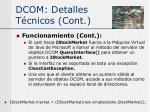 dcom detalles t cnicos cont5