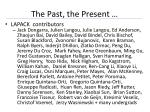 the past the present1